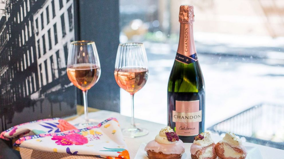 Chandon rose is perfect way to celebrate National Rose Day this year in any location.