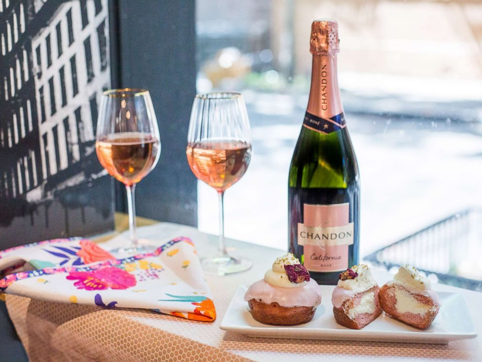 PHOTO: Chandon rose is perfect way to celebrate National Rose Day this year in any location.