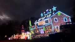 familys massive christmas lights display courts controversy in connecticut town