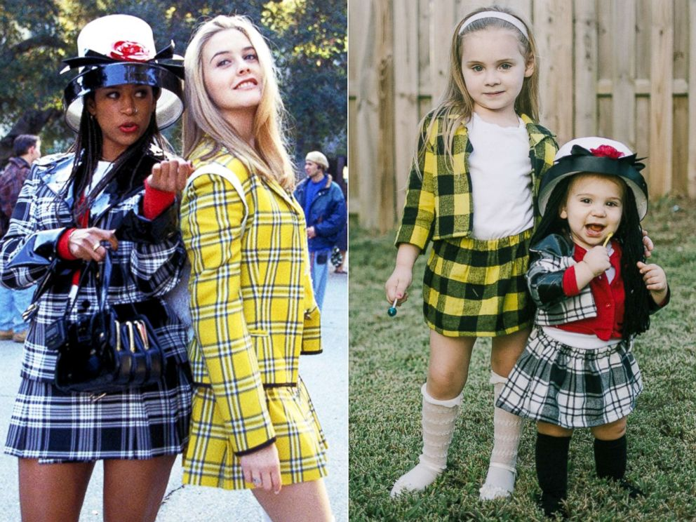 PHOTO Alicia Silverstone and Stacey Dash in Clueless (1995)  sc 1 st  ABC News & As if! Toddlers dress as u0027Cluelessu0027 besties Cher and Dionne for ...