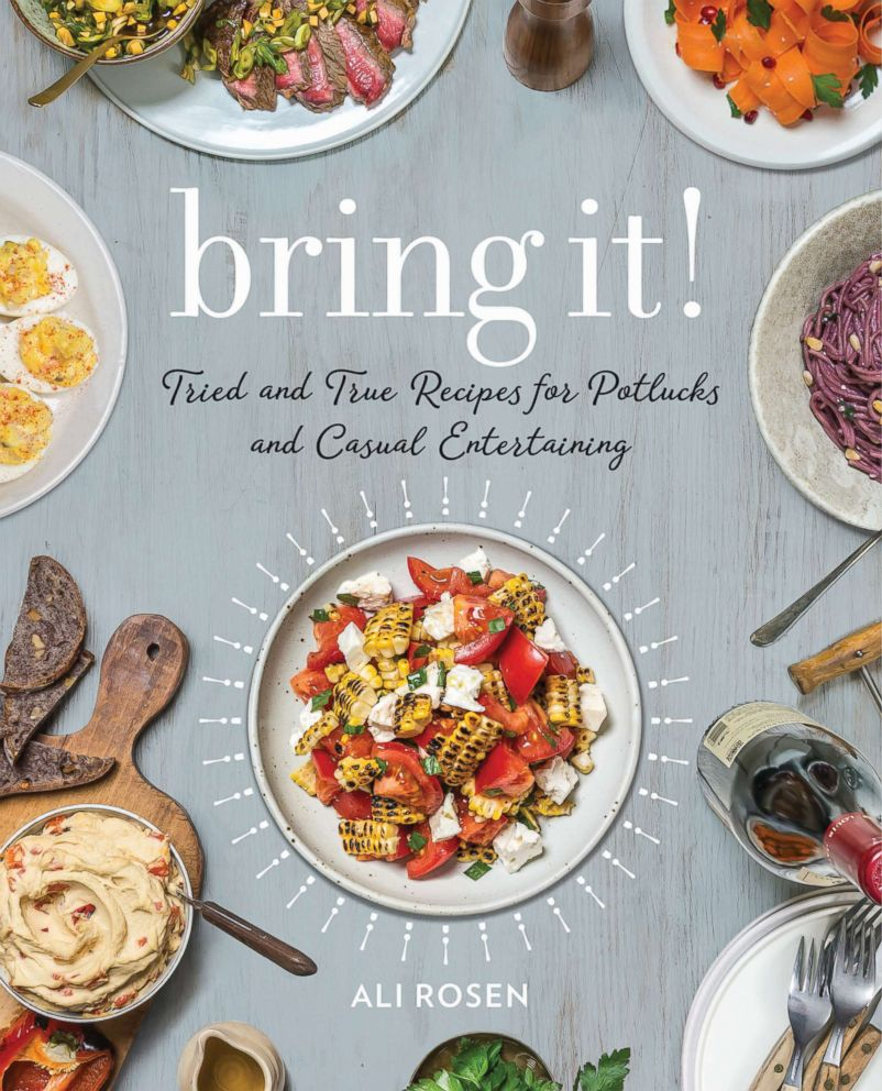 PHOTO: Ali Rosen shares her recipes for the perfect modern potluck in her new cookbook Bring It!: Tried and True Recipes for Potlucks and Casual Entertaining.