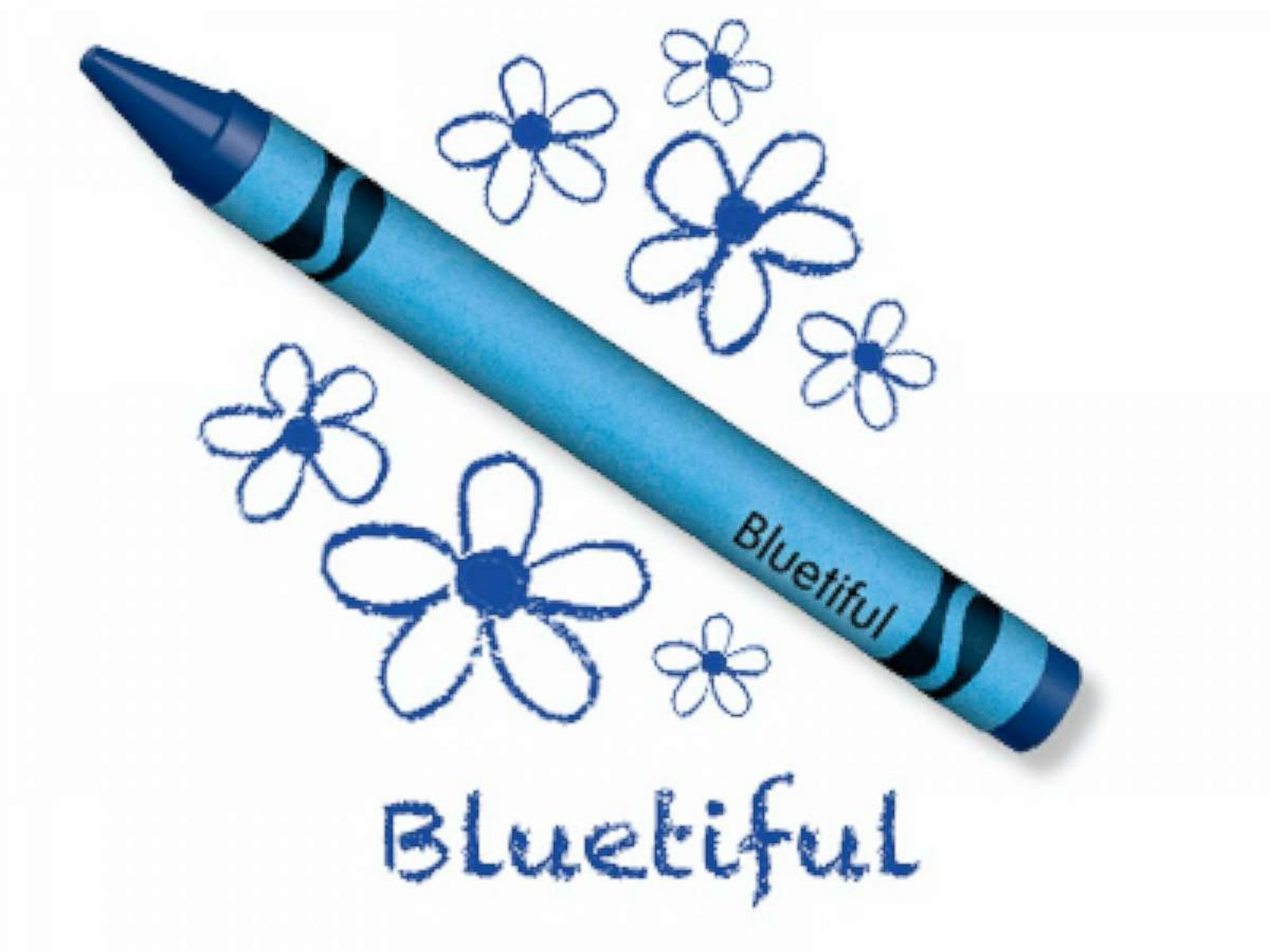 crayola names new blue crayon bluetiful after retiring yellow