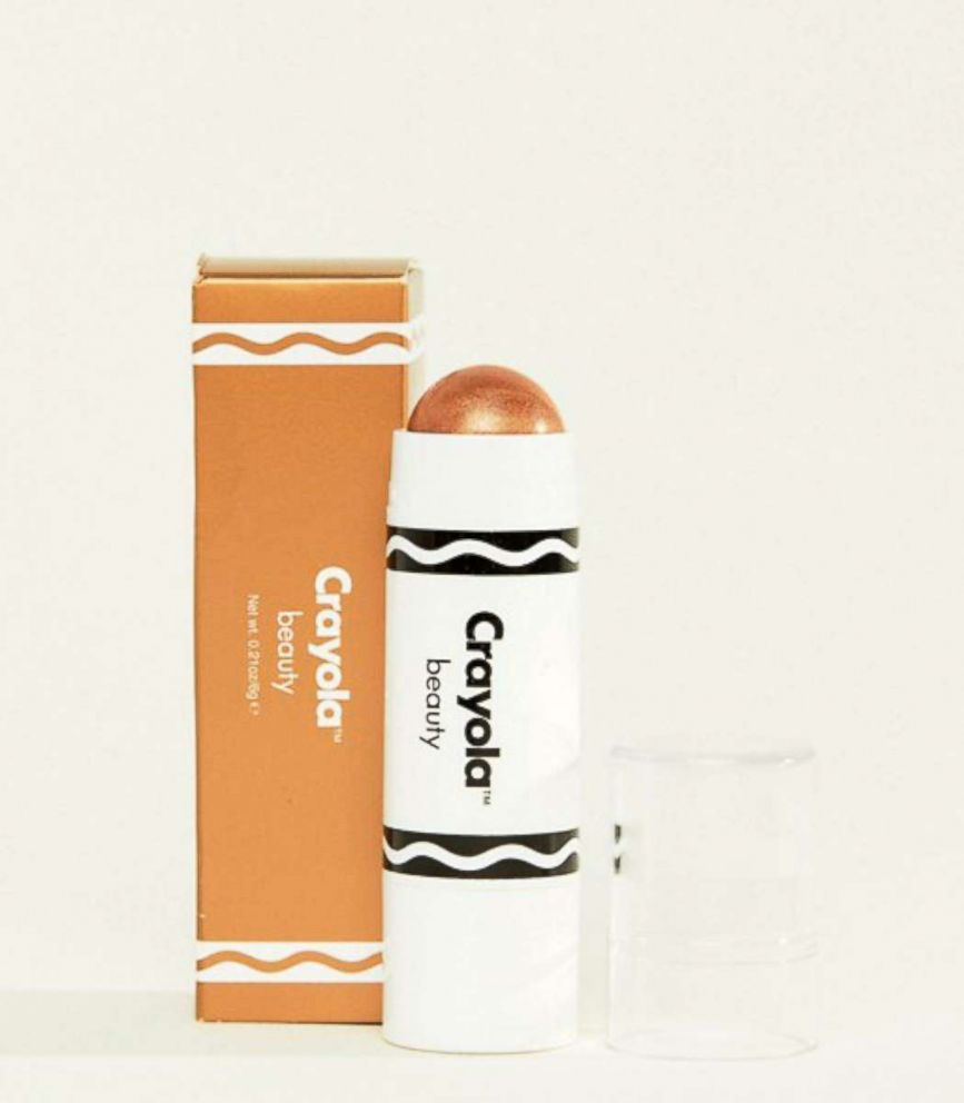PHOTO: This Crayola Highlighter Crayon in a Blast of Bronze color retails for $17.50.