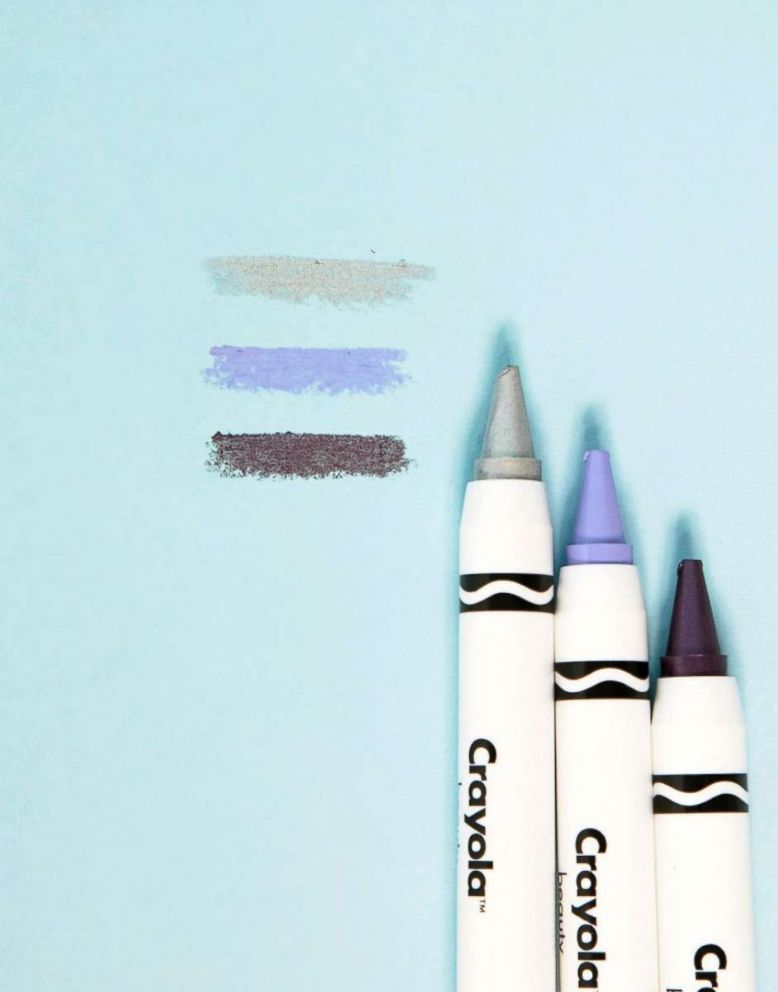 PHOTO: This trio of Purple Galaxy Lip & Cheek and Face Crayons retails for $29.00 at ASOS.