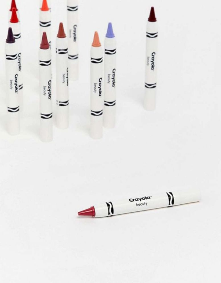 PHOTO: This Crayola Lip & Cheek Crayon in a rose color retails for $14.50 at ASOS.