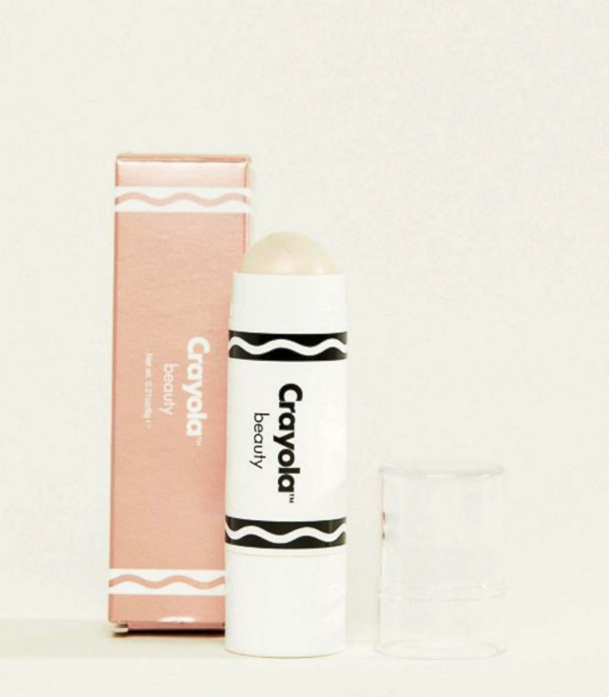 PHOTO: This Crayola Highlighter Crayon in a shimmering blush color retails for $17.50.
