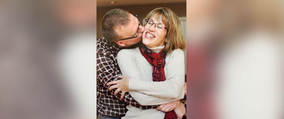 PHOTO: Ohio University Assistant Professor Dan West with his wife of 24 years Vicki Seefeodt West.