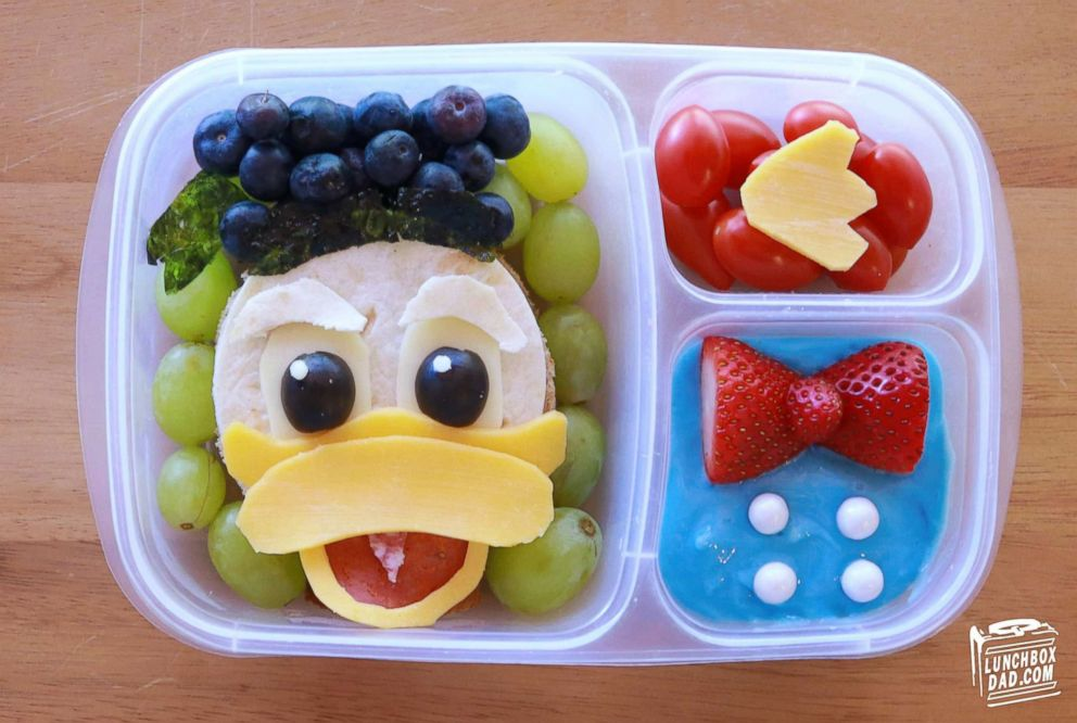 PHOTO: Beau Coffron creates beautiful dishes for his kids lunchboxes and shares his ideas for parents ahead of the new school year.
