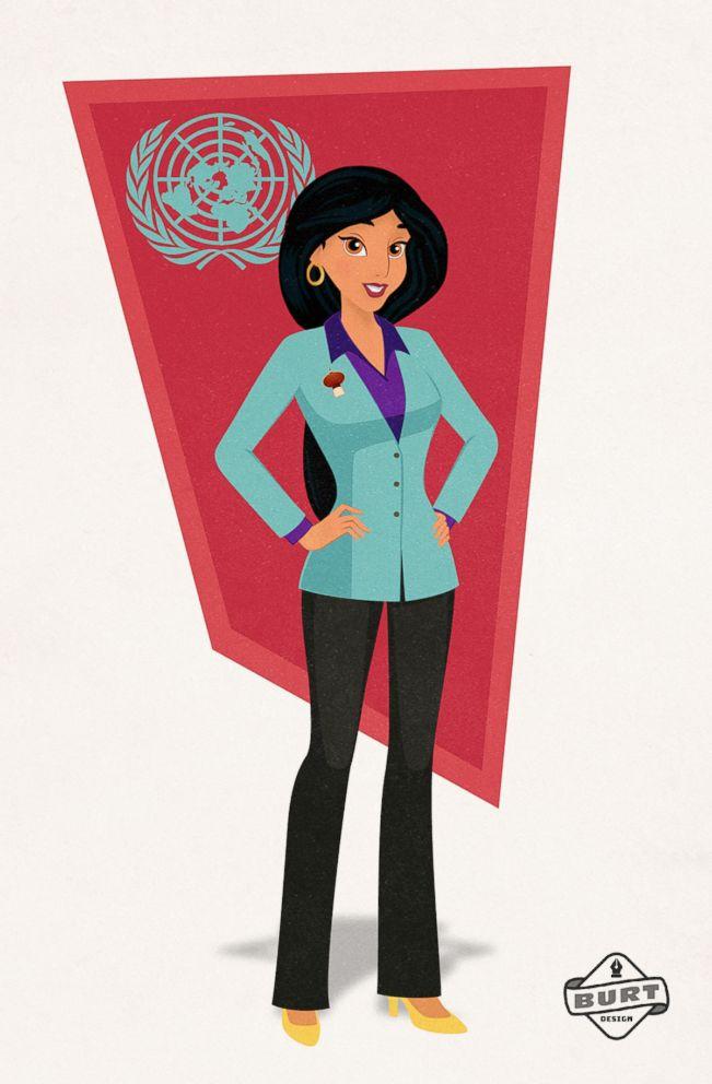 PHOTO: Jasmine is re-imagined as a U.N. Ambassador.