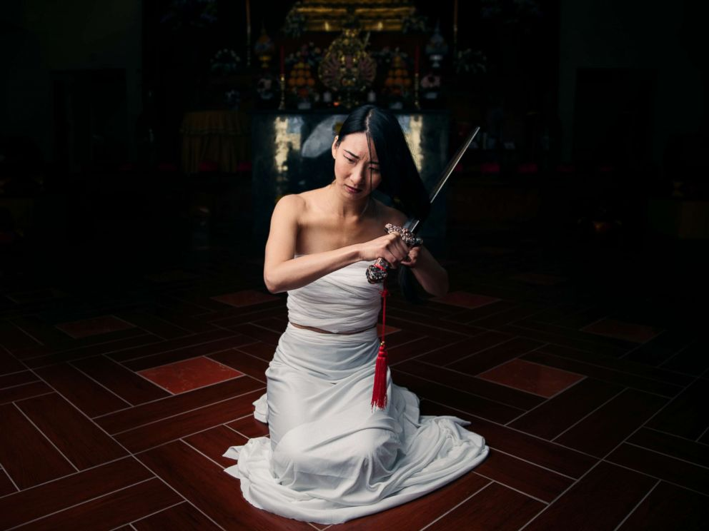 PHOTO: Leslie Nhan poses as Mulan in a photo shoot conceptualized by designer Nephi Garcia and photographer Tony Ross.