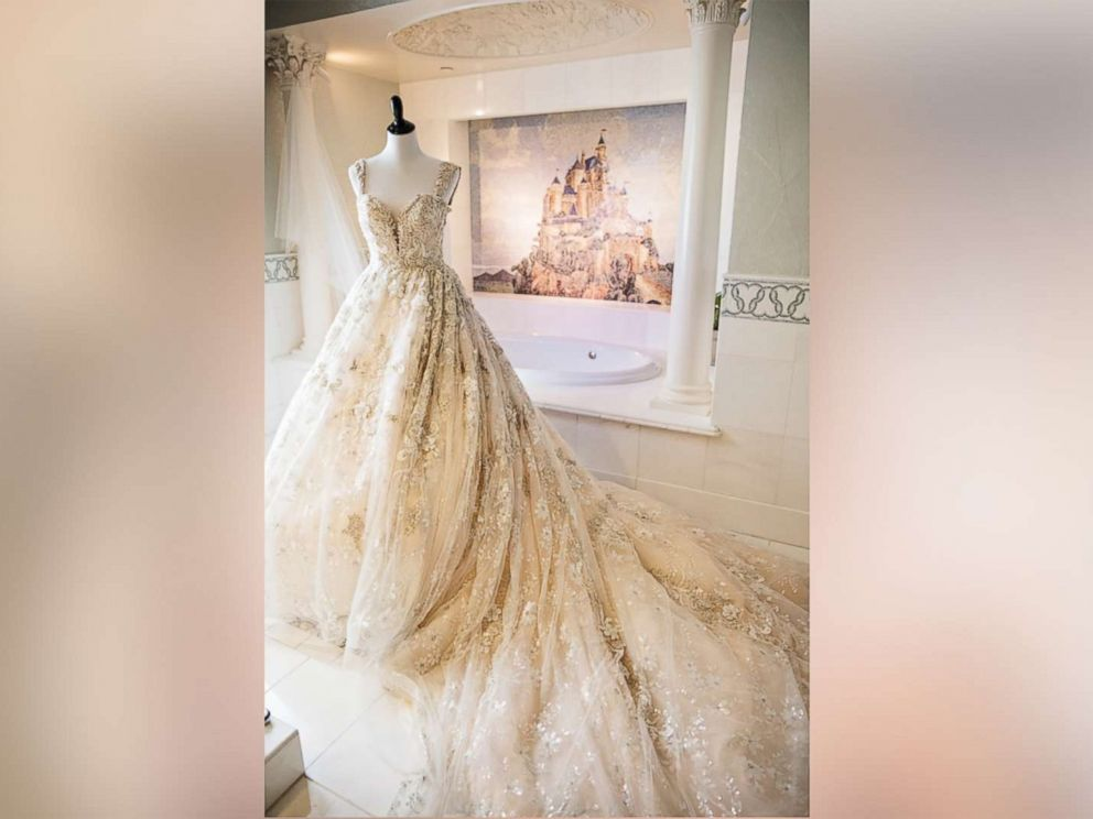 PHOTO: Sarah Kabiling and Gilbert Hernandez tied the knot on Sept. 8, 2017, with a lavish Fairytale Wedding at Disneyland.