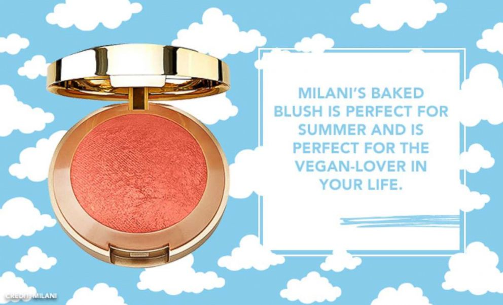 PHOTO: Milanis baked blush is perfect for summer and is perfect for the vegan-lover in your life.