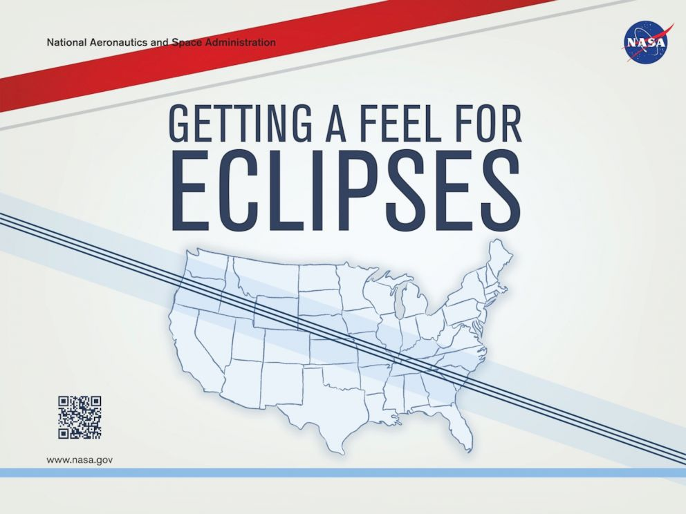 PHOTO: NASA sponsored the publication of Getting a Feel for Eclipses, a tactile graphic book about the Aug. 21, 2017, total solar eclipse.