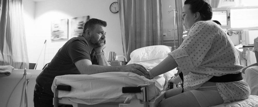 PHOTO: Eve Rose Birth Photography captured the emotions of one dad as his wife gave birth.