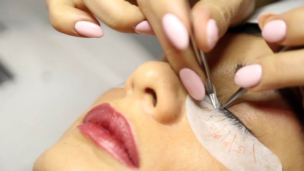 8649a7bed0d How false eyelashes have become a must-have, everyday accessory and a  booming market - ABC News