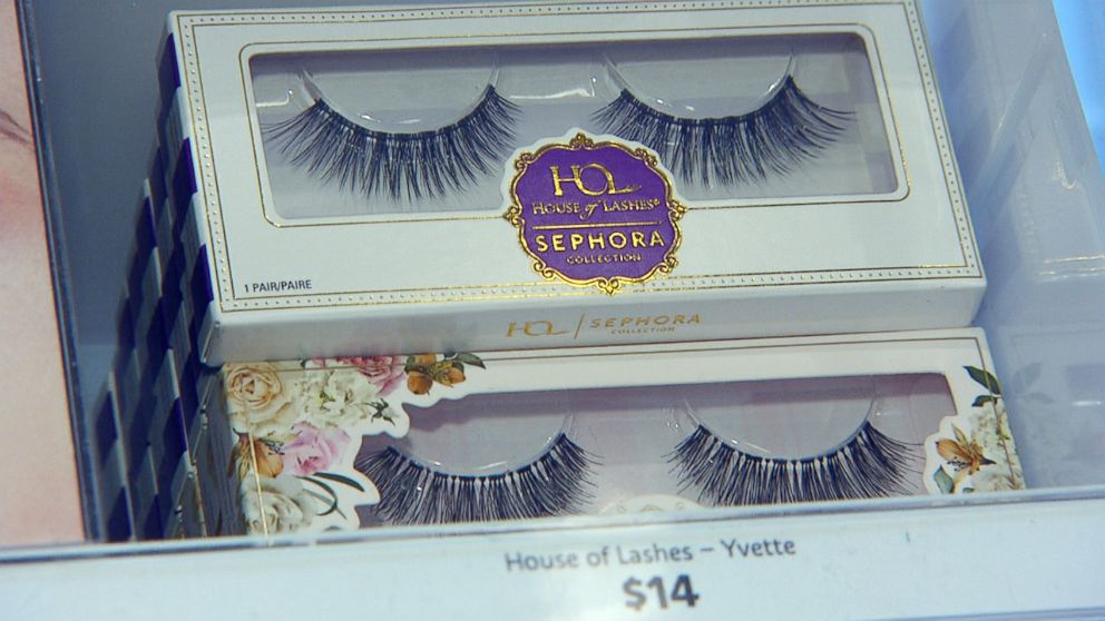 PHOTO: False eyelashes at Sephora.