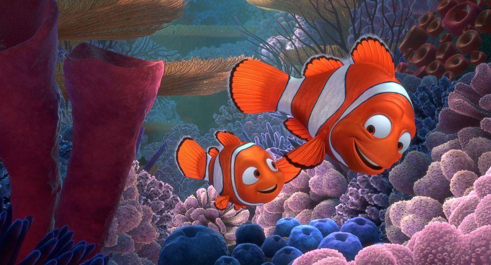PHOTO: Marlin in the movie Finding Nemo.
