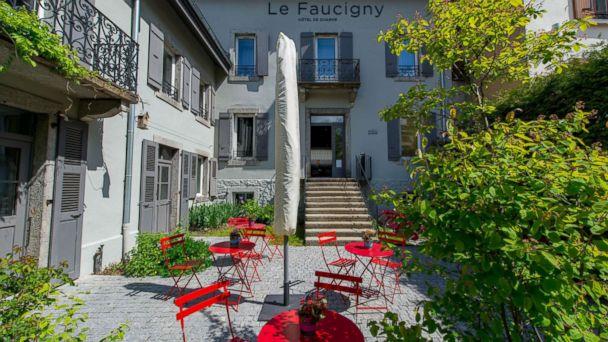 PHOTO: Hotel Le Faucigny in Chamonix, France.