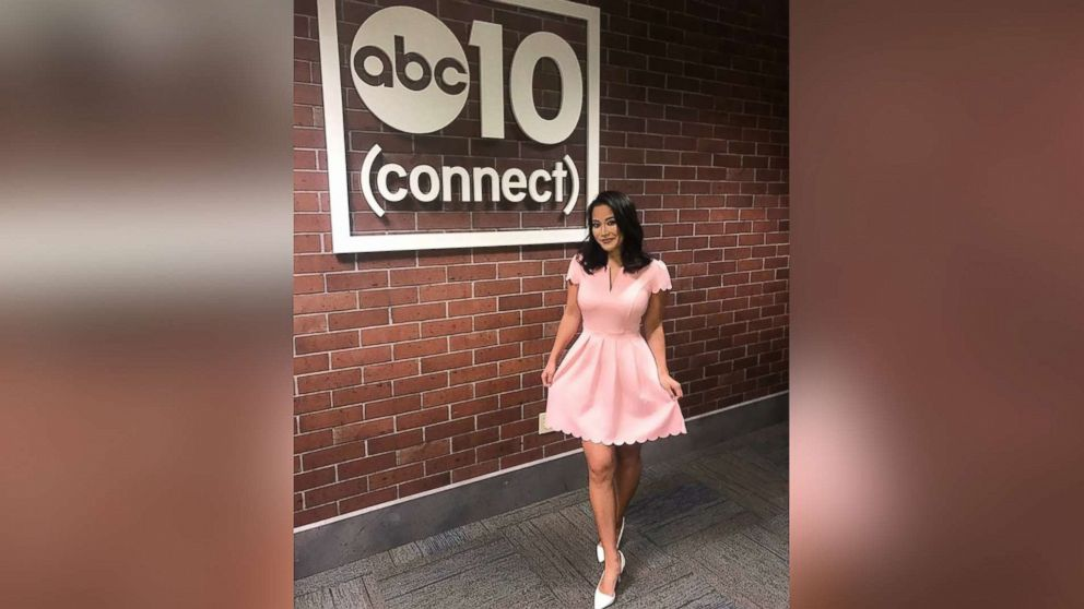 Frances Wang, a news anchor from Sacramento, found at least 40 TV news women wearing versions of the $20 dress from Amazon.