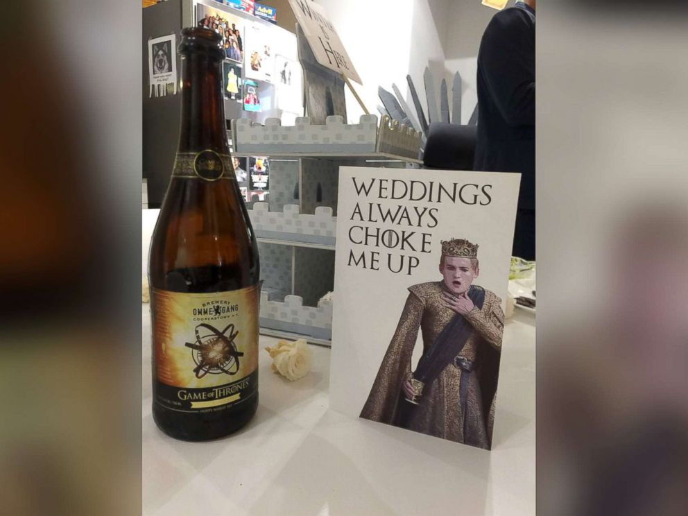 Office Throws Game Of Thrones Themed Wedding Shower For Co Worker