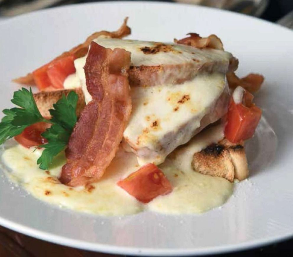 PHOTO: Seen in this photo, a Giant Hot Brown, which is featured in the Bourbon Country Cookbook.