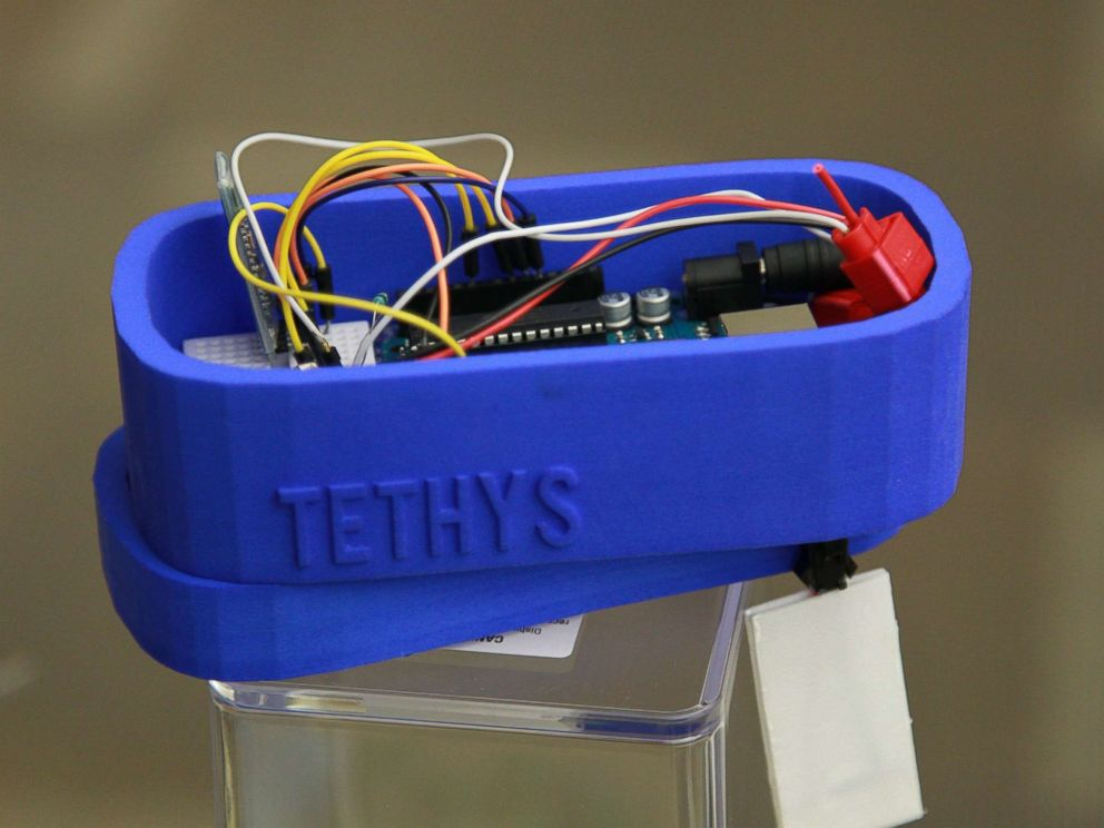 PHOTO: Gitanjali Rao developed a device called Tethys to detect lead in water.