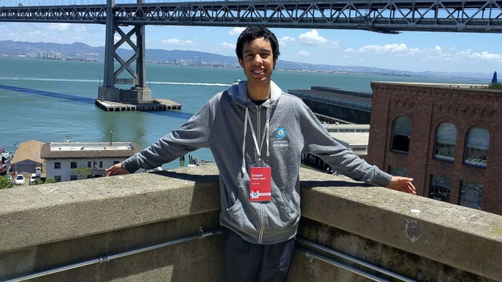 Ezequiel Pereira, 17, of Montevideo, Uruguay., has been awarded $10,000 from Google for discovering a security bug.