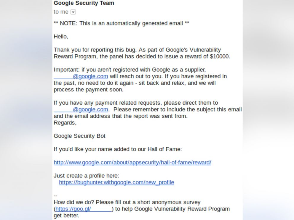 PHOTO: Ezequiel Pereira, 17, of Montevideo, Uruguay., has been awarded $10,000 from Google for discovering a security bug.