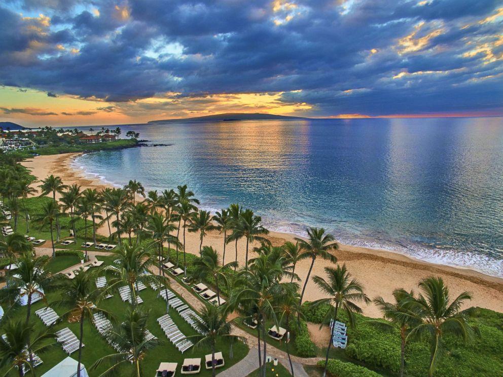 PHOTO: The beach at the Grand Wailea in Maui, Hawaii.