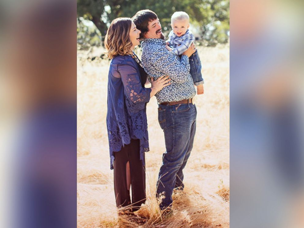 PHOTO: Maddie Coleman of Chico, California, seen in an undated photo with her husband, Tyler Coleman and their son, Gus Wyatt Coleman, 1.