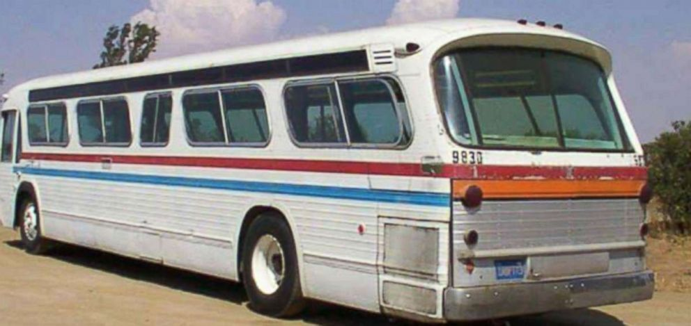 The original 1966 GMC Commuter Greyhound had seats for passengers.