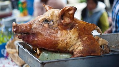 PHOTO: Hornado, a roasted whole pig from Ecuador, is seen in this undated photo.