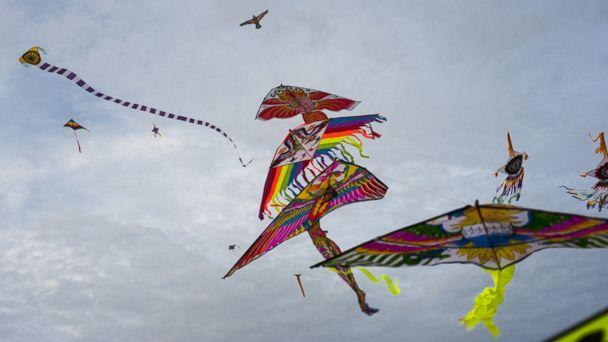 PHOTO: Flying a kite is a popular way to spend Good Friday in Bermuda.