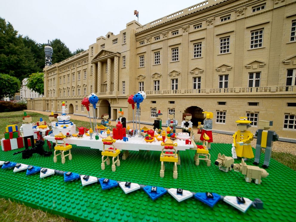 PHOTO: Legoland Windsor hosts a first birthday party for Prince George of Cambridge on July 21, 2014 in Windsor, England.