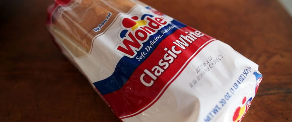 PHOTO: A loaf of Wonder Bread sits on a table, Jan. 10, 2012 in New York.
