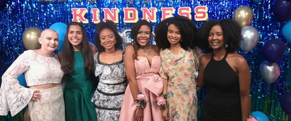 "PHOTO: Teen influencers showed up in style to Instagrams ""Kindness Prom."