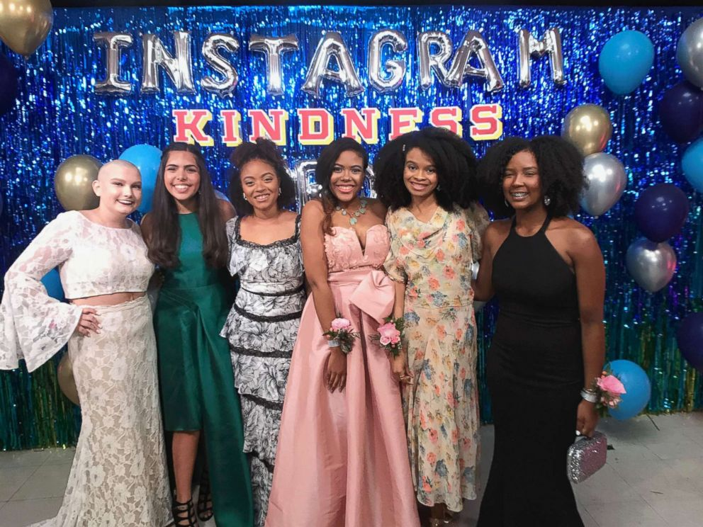 PHOTO: Teen influencers showed up in style to Instagrams Kindness Prom.