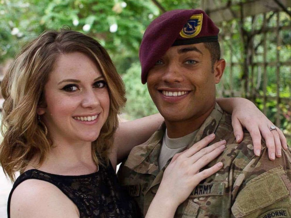 PHOTO: Britt Harris, 26, found out she was pregnant just before her husband, U.S. Army Specialist Chris Harris, died in Afghanistan.