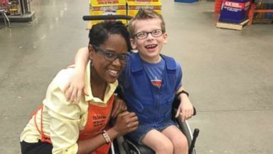 Woman Thanks Home Depot Employee Who Bought Halloween Costume Supplies For Son In Wheelchair Abc News