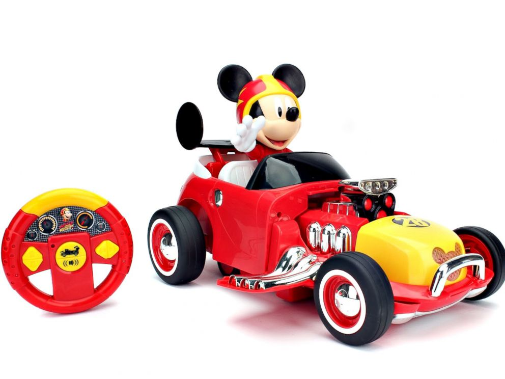 PHOTO: Mickey Transforming Roadster Racer R/C