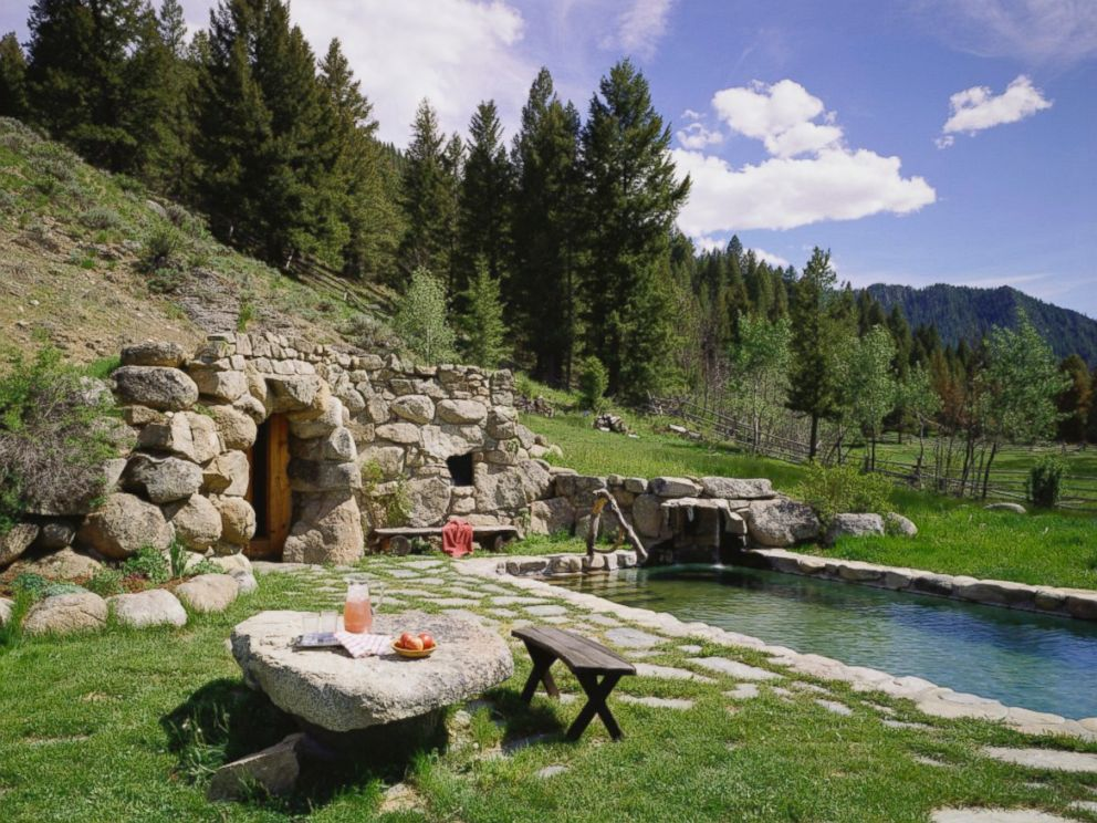 Fine See Inside Carole Kings Luxury Idaho Ranch Abc News Download Free Architecture Designs Grimeyleaguecom