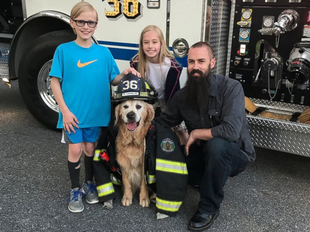PHOTO: Mr. Molson, a 12-year-old golden retriever with terminal cancer, has been making memories with his owners in Red Lion, Pa., while living out his final months.