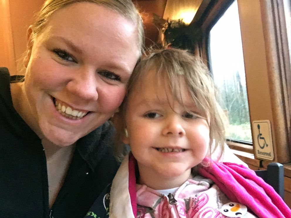 PHOTO: Sarah Walton is pictured with her daughter, Ellie, 4, before her passing in January 2017.
