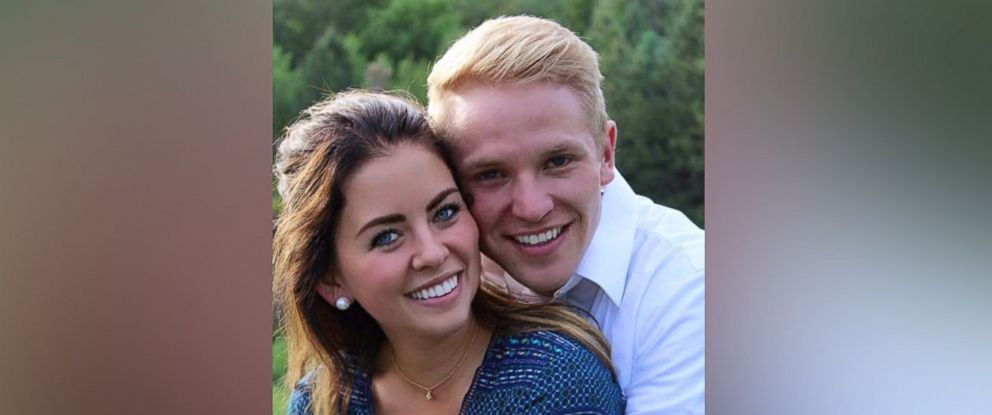 PHOTO: Michael Baker, 23, proposed to Tracie Wyson, 20, with a music video and surprise proposal in a Utah garden.
