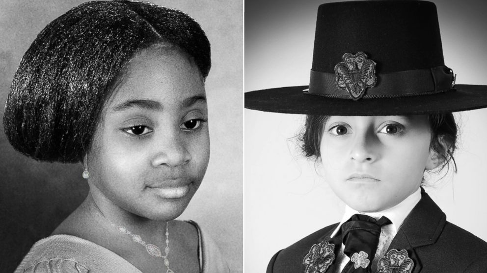 11 young Girl Scouts were styled as iconic women leaders, including Whoopi Goldberg and Hillary Clinton, in honor of Women's History Month.