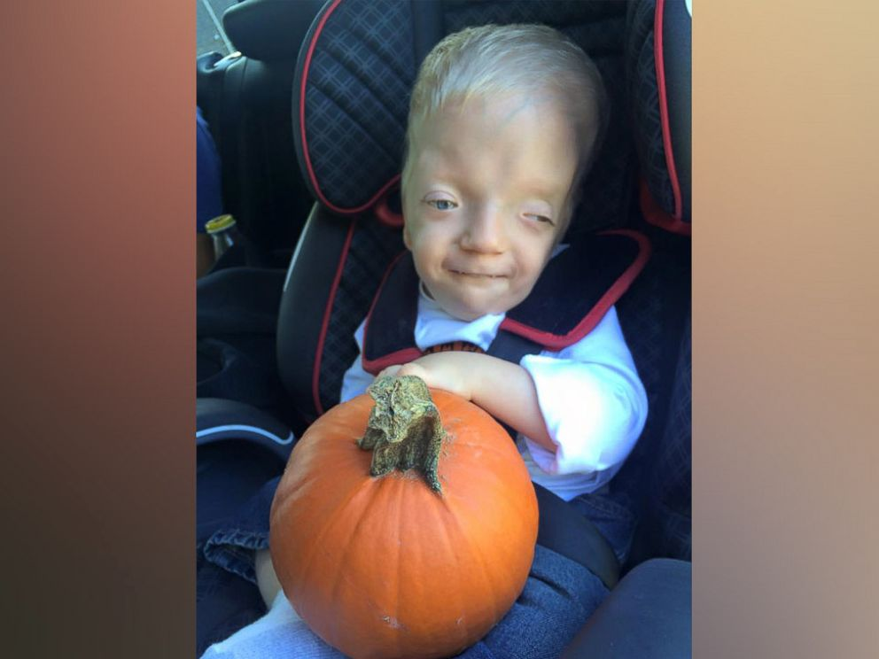 PHOTO: Jenny Smith of Ranburne, Alabama said this Oct. 2015 photo of her son, Grayson Smith, 3, was turned into an Internet meme