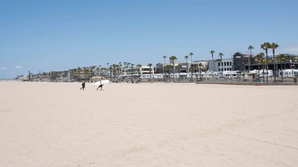 PHOTO: Huntington Beach is one of the 8 most crowded U.S. beaches.