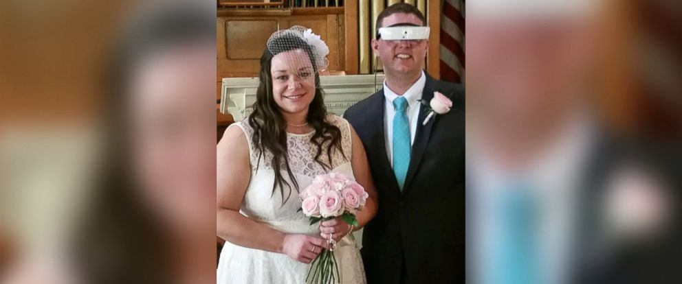 PHOTO: Andrew Airey and his wife of 15 years Kelli are pictured from their second wedding on April 30, 2017 in Conway, N.H.