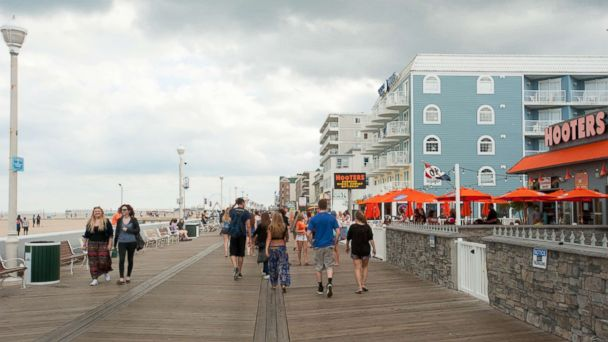 PHOTO: Ocean City is one of the 8 most crowded U.S. beaches.