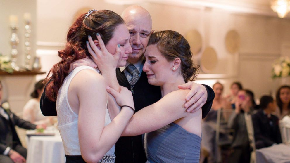 Bride Gives Father Daughter Dance To Duo Who Won T Have Their Own Abc News